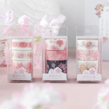 Load image into Gallery viewer, Cherry Blossom Series Washi Tape - 3m *3 pcs/lot
