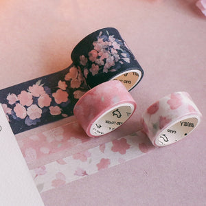 Cherry Blossom Series Washi Tape - 3m *3 pcs/lot