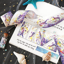 Load image into Gallery viewer, Starry Sea Decorative Washi Tape - 40mm *5m
