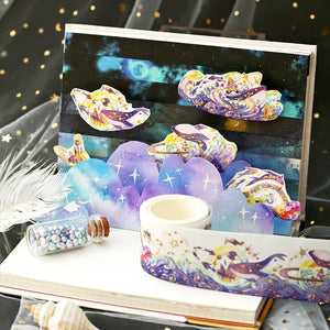 Starry Sea Decorative Washi Tape - 40mm *5m