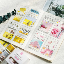 Load image into Gallery viewer, Simple Small Series Japanese Washi Tape - 5pcs/lot