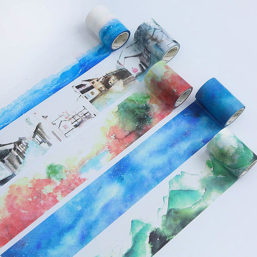 Wide Ancient Series Washi Tape