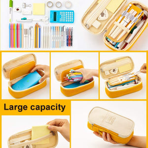 🥈Block Color Stationery Pouch