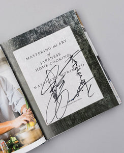 Signed Copy of Mastering the Art of Japanese Home Cooking