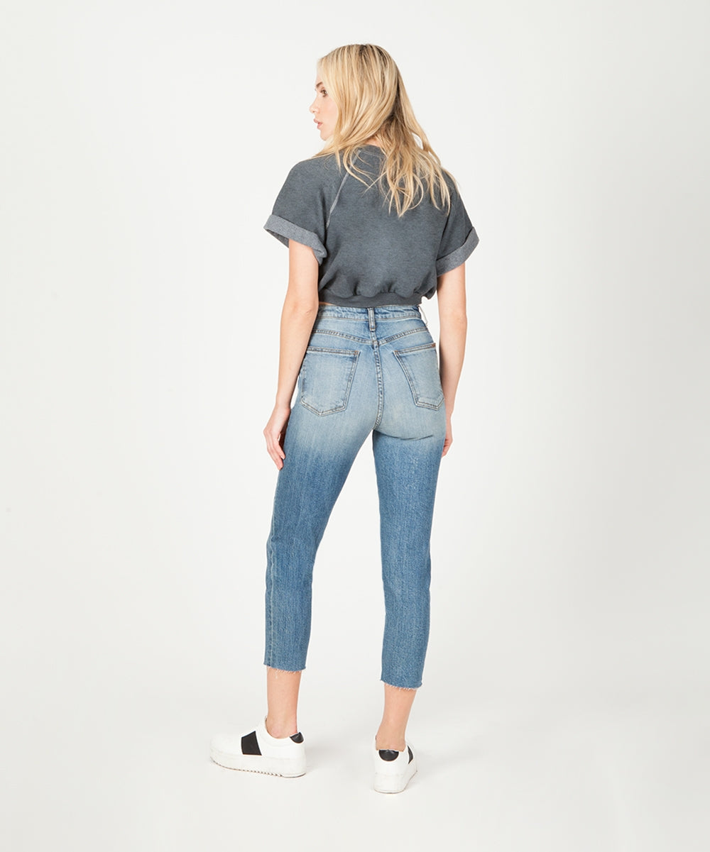 Alicia Mom Jean (Lemonwood Wash)