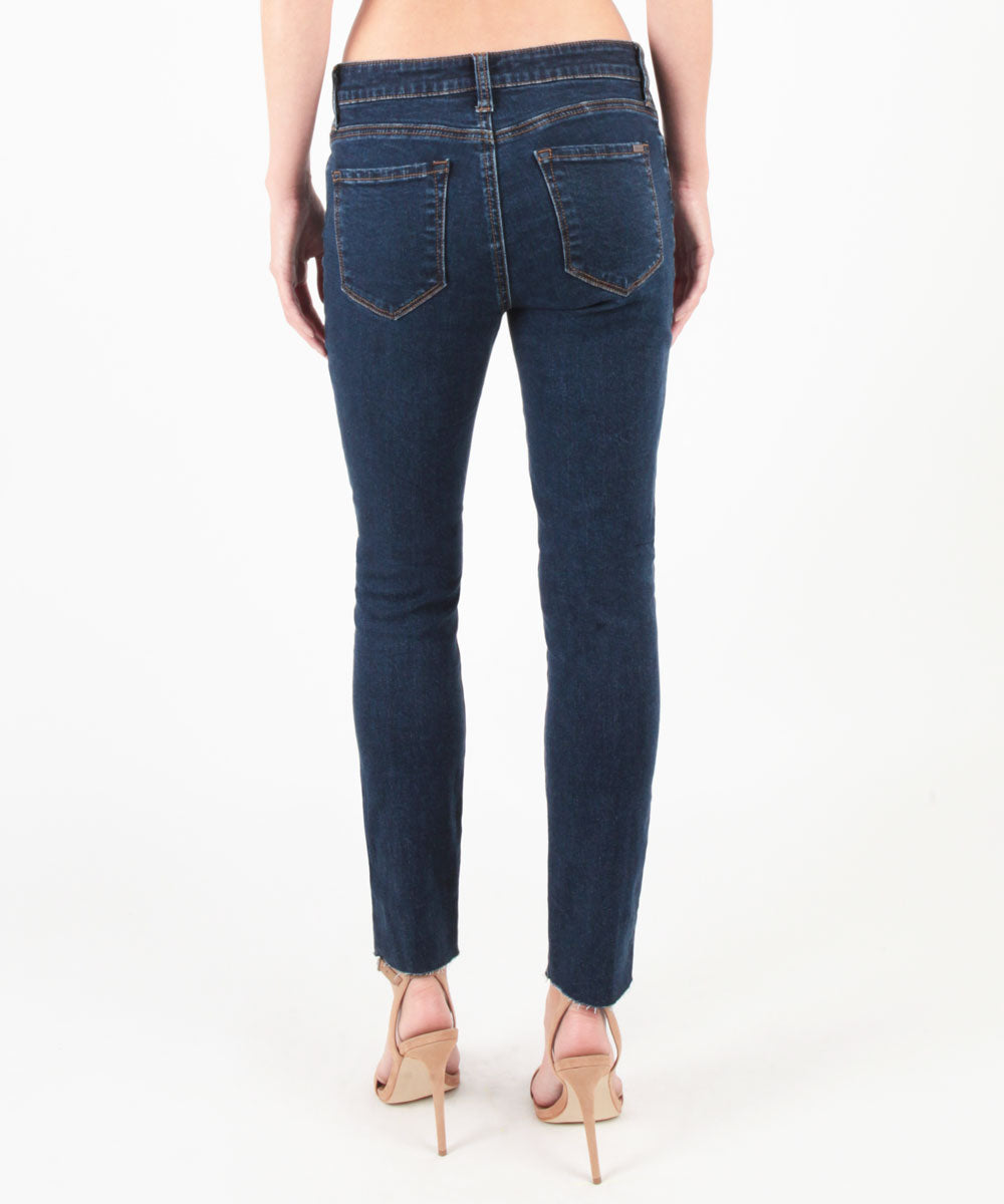 Piper Ankle Skinny With Raw Hem (Pacific Wash)