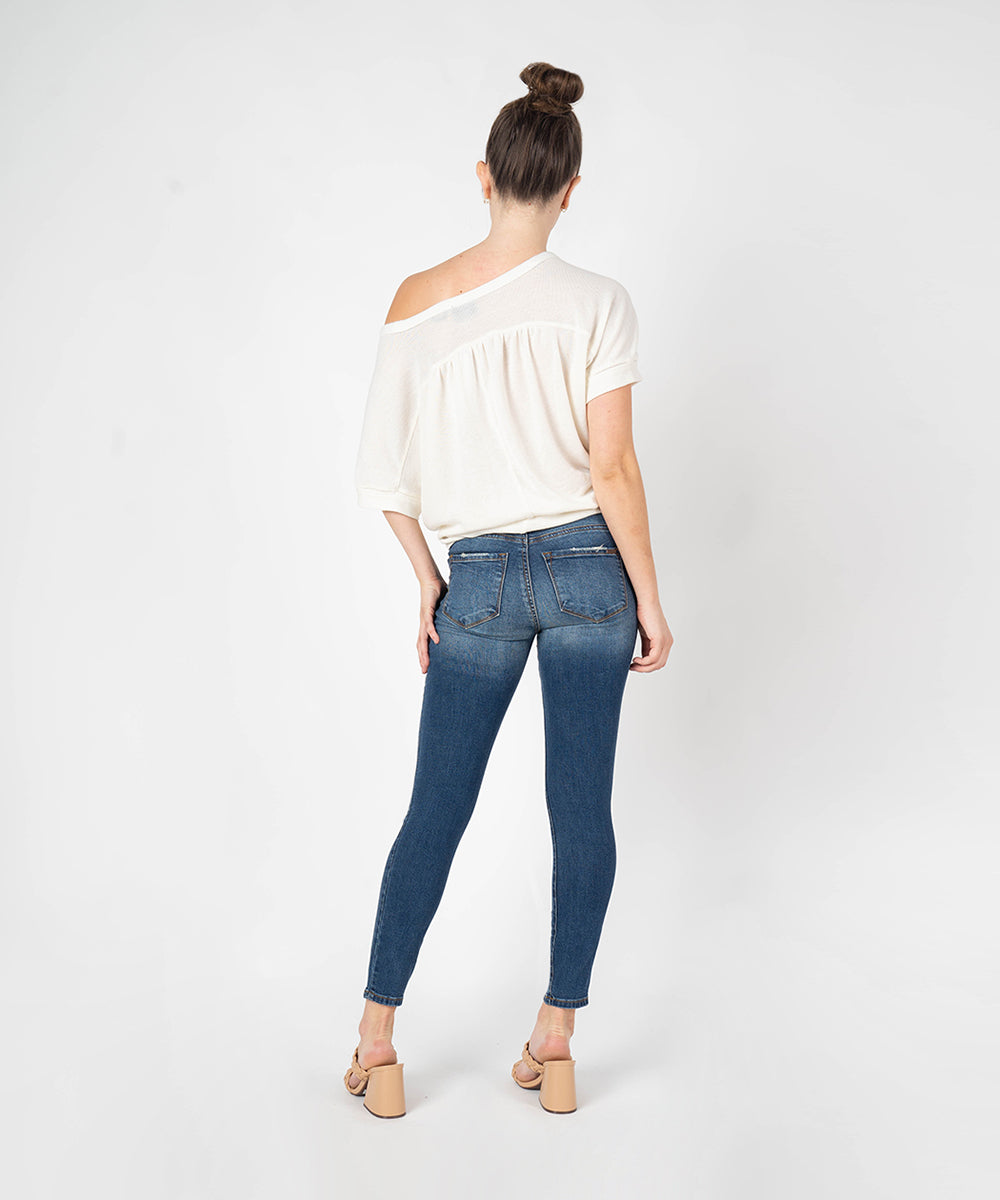 Piper Ankle Skinny (Rosedale Wash)