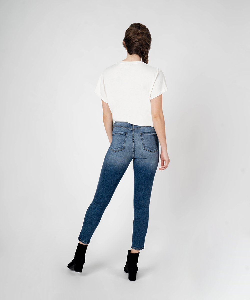 Brie High Rise Ankle Skinny (Briarwood Wash)