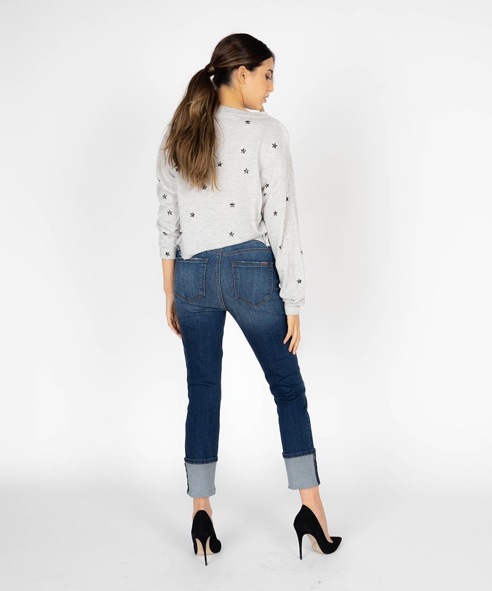 Stella High Rise Slim Cuffed Skinny (Mosby Wash)
