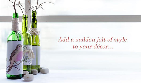 DO IT YOURSELF! Water Bottle Decoration DIY - The Fox Decor