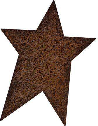 "100/pk Rusty Tin Folk Stars, 1"" Rusty Tin Shapes CWI+"