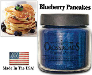 16 Oz Jar Candle, Blueberry Pancakes Classic Jar Candles CWI+