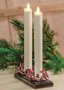 "2/Set, Luminara Tapers Candle, 8"" Luminara Candles CWI+"