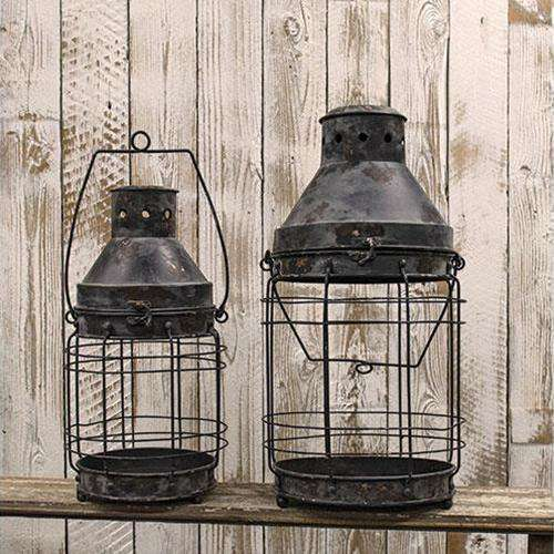 2/Set, Railroad Lanterns Lanterns/Lids CWI+