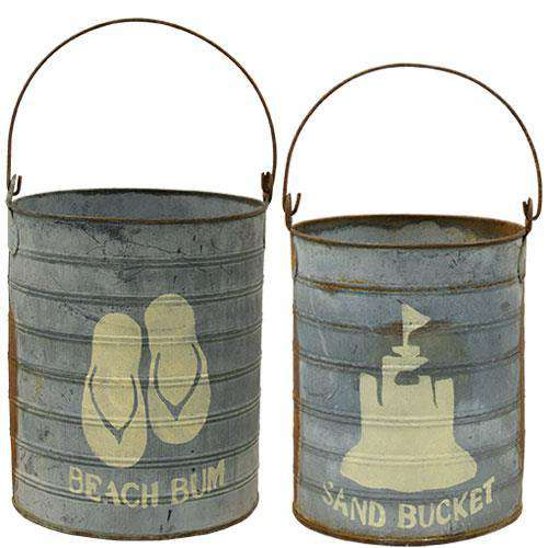 2/Set, Sand Buckets Buckets & Cans CWI+