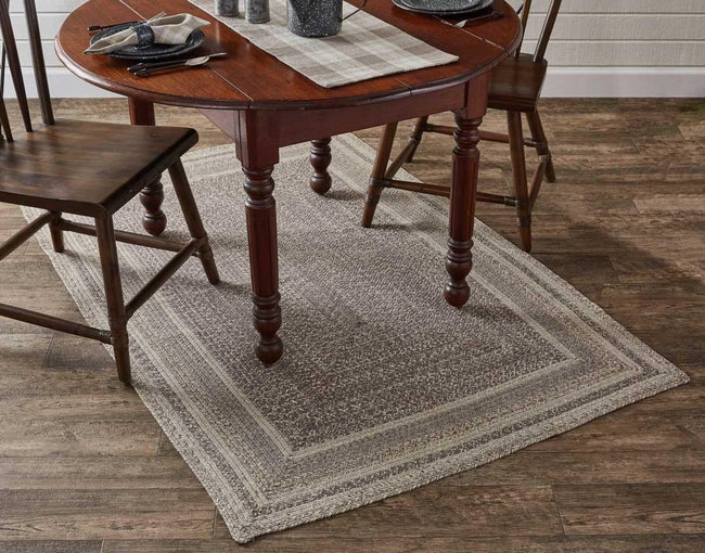 Hartwick Braided Rectangle Rug - 4' x 6' Park Designs