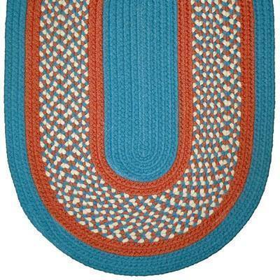 332 Ex Braided Rugs Oval/Round