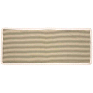 Kendra Stripe Green Runner 13x36 VHC Brands