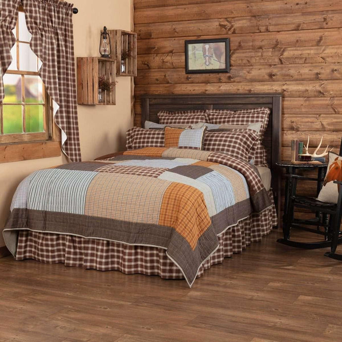 Rory California King Quilt 130Wx115L VHC Brands