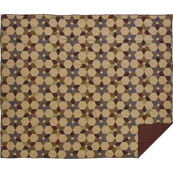Tea Star King Quilt 110Wx97L VHC Brands online