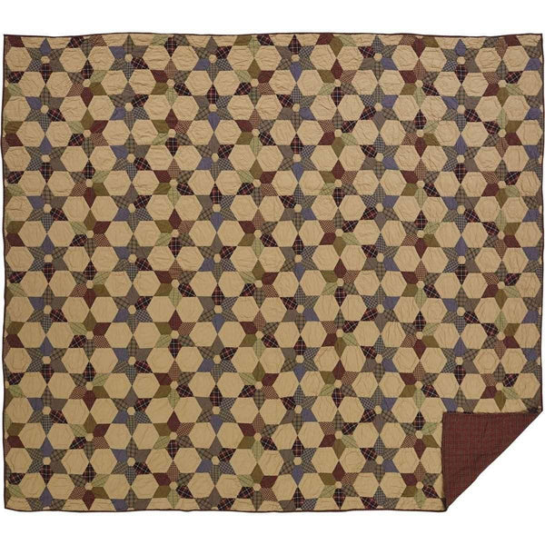 Tea Star Luxury King Quilt 120Wx105L VHC Brands online