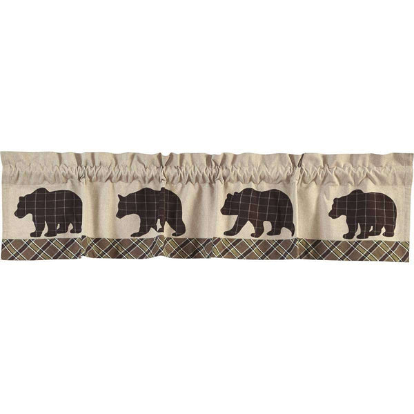 Wyatt Bear Valance Curtain online