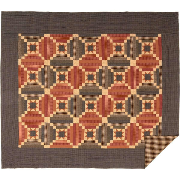 Maisie California King Quilt 130Wx115L VHC Brands