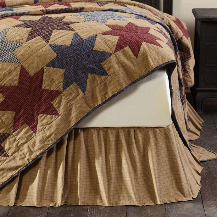 Kindred Star King Bed Skirt VHC Brands - The Fox Decor