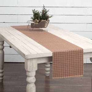 Jonathan Plaid Ribbed Runner 13x90 VHC Brands
