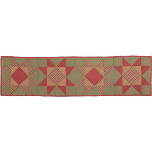 Dolly Star Quilted Runner 13x48 VHC Brands