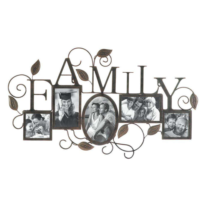 5-Photo  Family Wall Frame
