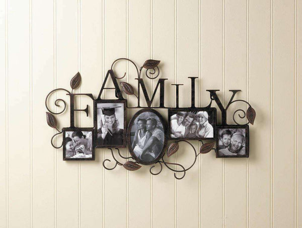 5-Photo  Family Wall Frame - The Fox Decor