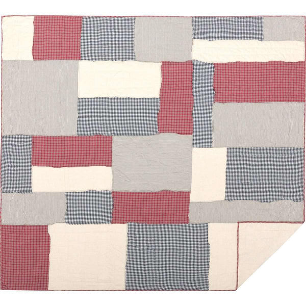 Hatteras Patch King Quilt 105Wx95L VHC Brands full