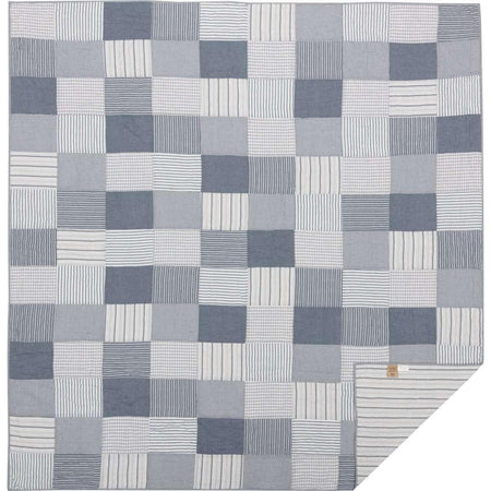 Sawyer Mill Blue Queen Quilt 90Wx90L VHC Brands full