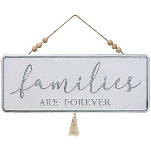 Families are Forever Metal Hanger - The Fox Decor