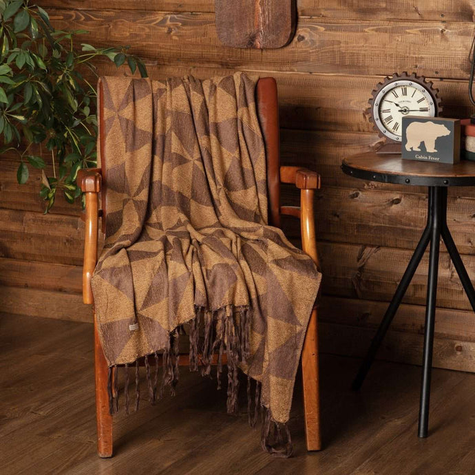 Kendrick Chenille Jacquard Woven Throw 60