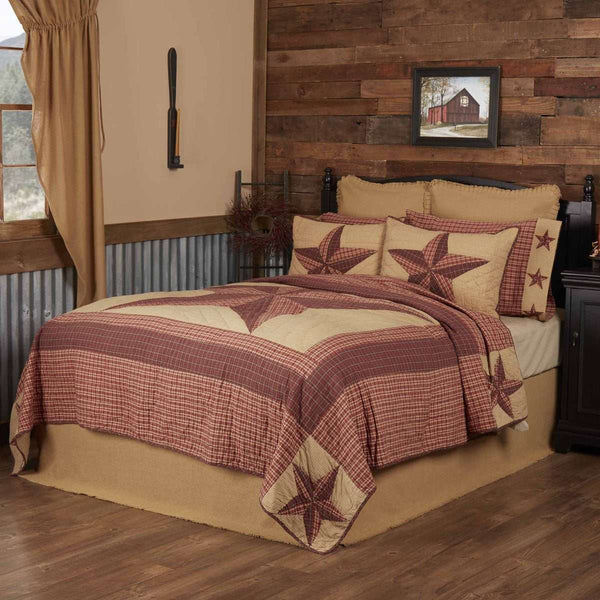 Landon Twin Quilt 68Wx86L VHC Brands