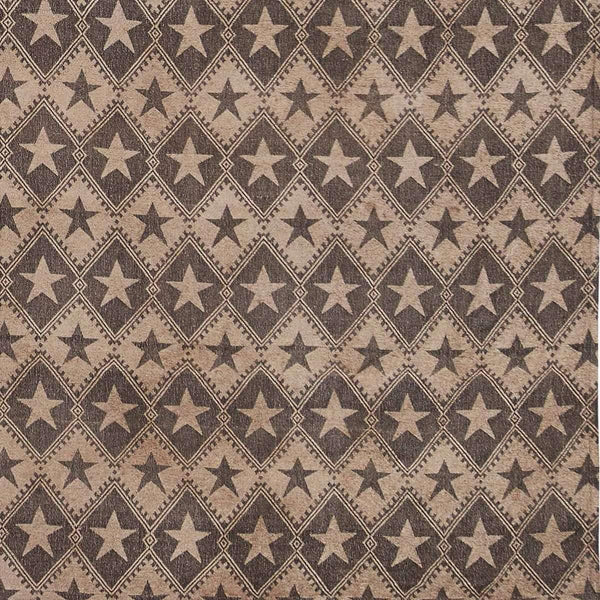 Jefferson Star King Chenille Woven Coverlet 114x103 VHC Brands online
