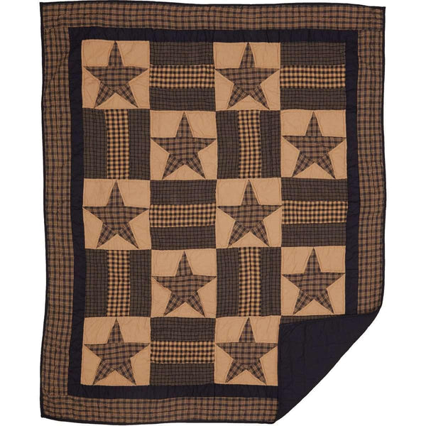 Teton Star Quilted Throw VHC Brands