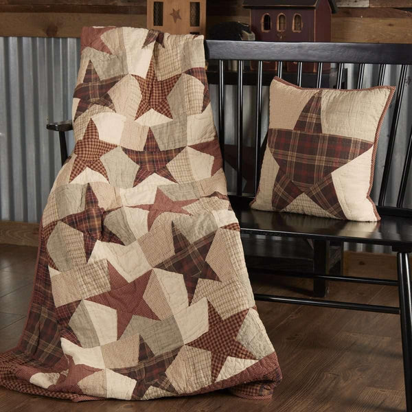 Abilene Star Quilted Throw 70x55 VHC Brands