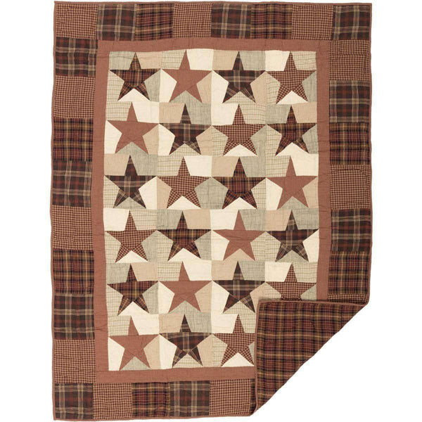 Abilene Star Quilted Throw  VHC Brands Online