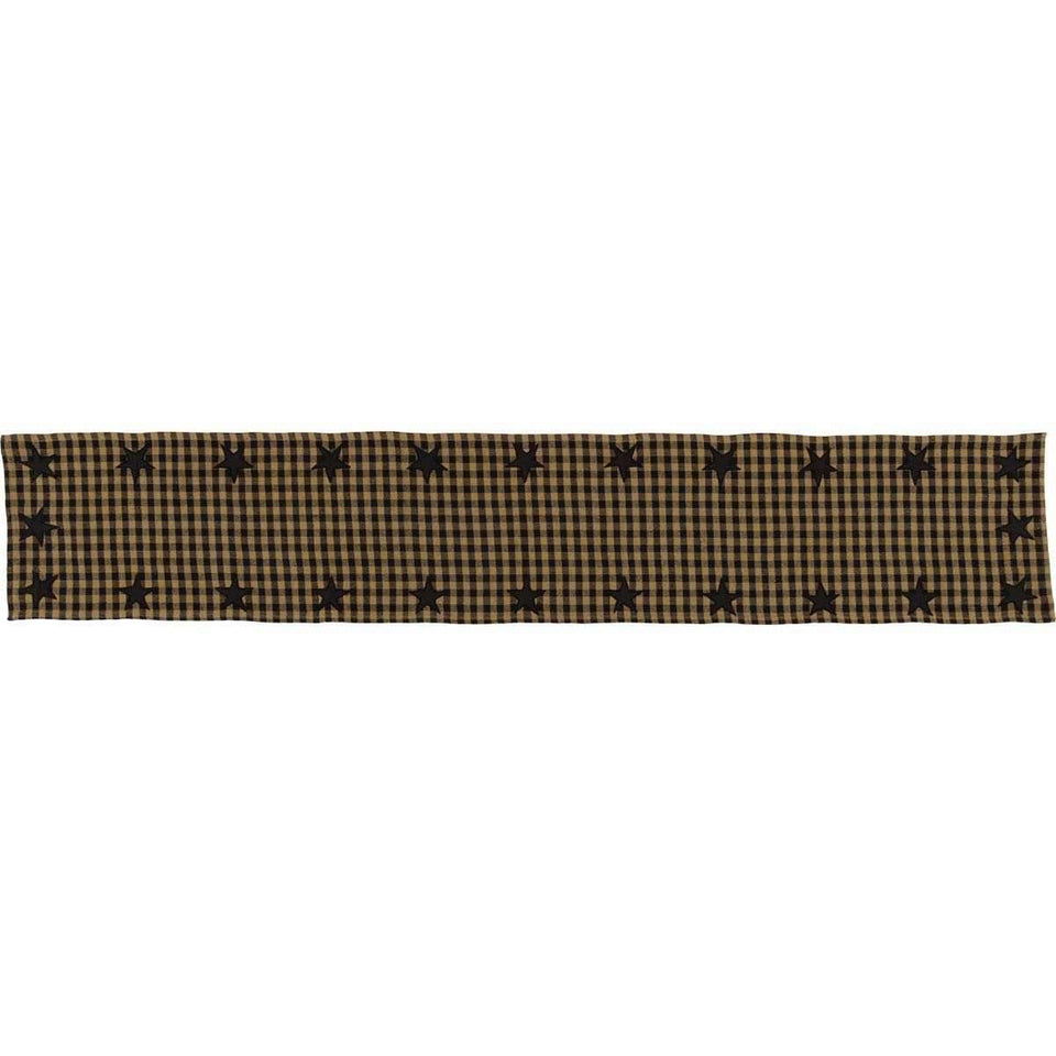 Black Star Runner Woven 13x72 VHC Brands