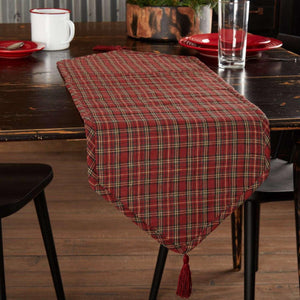 Tartan Holiday Runner 13x36 VHC Brands