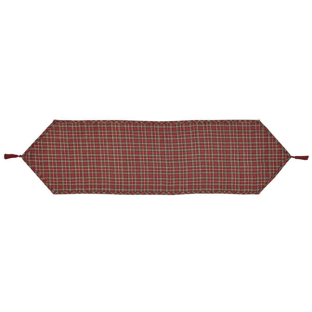 Tartan Holiday Runner 13x48 VHC Brands