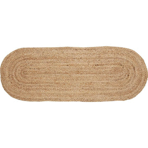Natural Jute Runner 13x36 VHC Brands