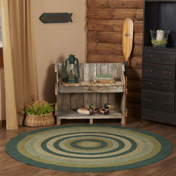 Sherwood Jute Braided Round Rugs - The Fox Decor