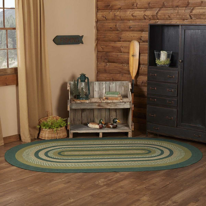 Sherwood Jute Braided Rug Oval