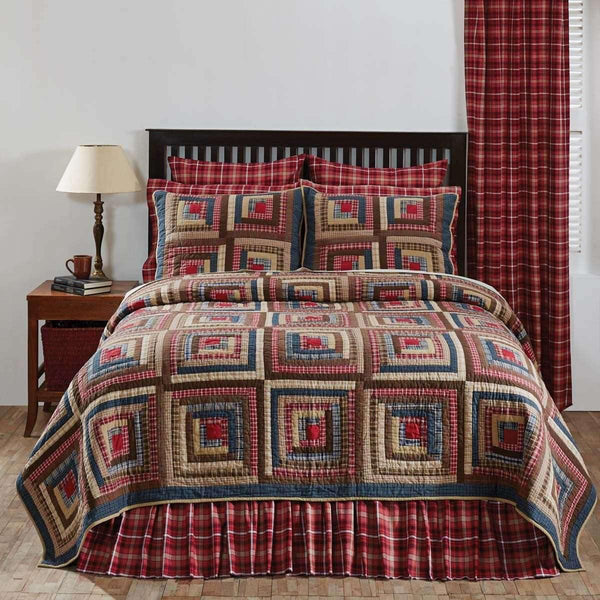Braxton Twin Quilt 70Wx90L VHC Brands beautiful
