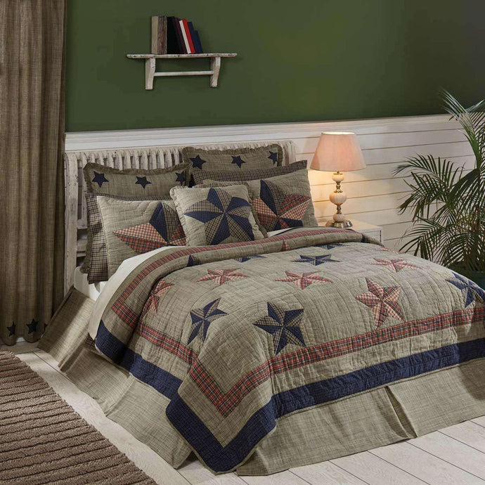 Vincent Twin Quilt 70Wx90L VHC Brands