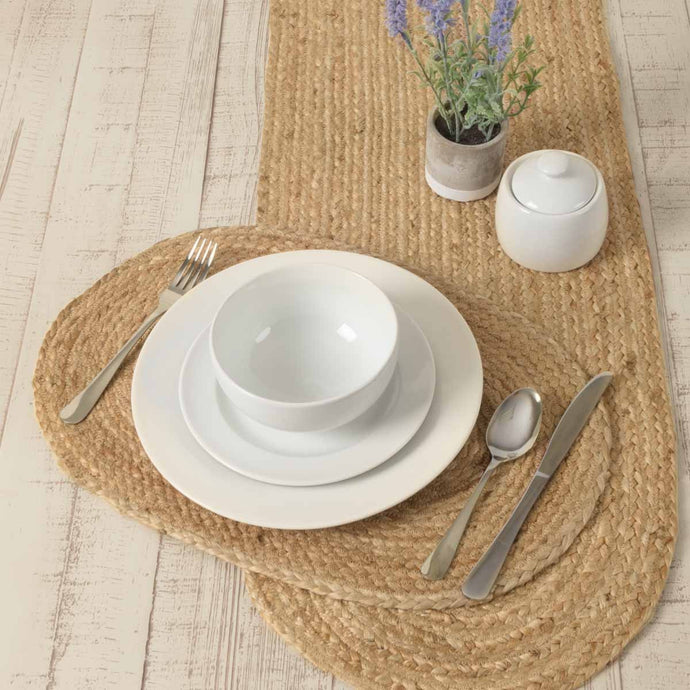 Natural Jute Braided Placemats Set of 6